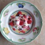 Raspberry Yoghurt etc Small